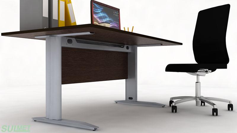 ergonomiczny stelaż biurka